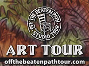 Off The Beaten Path Studio Tour